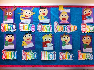 "Read: A My Name is Alice and make this cute craft from Deanna Jump's ""fun with names math"" and literacy unit."