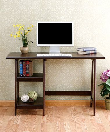 Another great find on #zulily! Espresso Langston Desk by Southern Enterprises #zulilyfinds