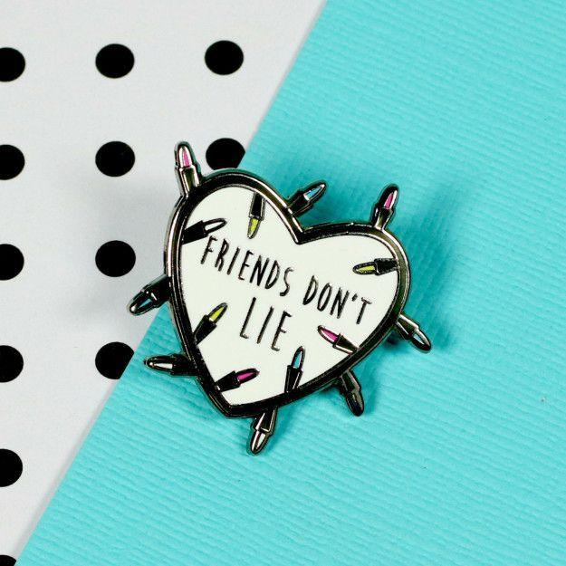 This enamel pin: