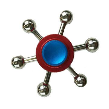 ECUBEE Hand Spinner Zinc Alloy Bola Fidget Spinner Finger Focus Reduce Stress Gadget with Free Shipping