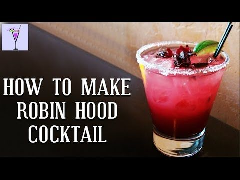How To Make Robin Hood Cocktail Recipes | Cocktail Drinks | Rum | Vodka | Gin | Straight Up Bar
