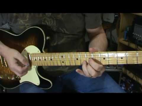 Beginners, VERY EASY Country Lead Guitar Lesson With Scott Grove