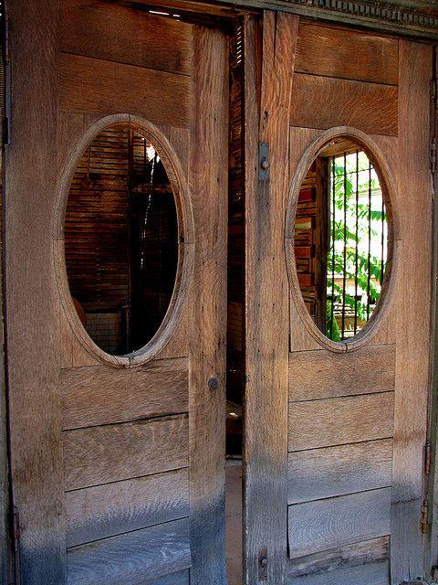 antque swinging door | Old Swinging Doors | Flickr - Photo Sharing!