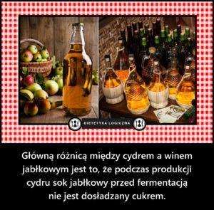 Różnica między cydrem a winem jabłkowym