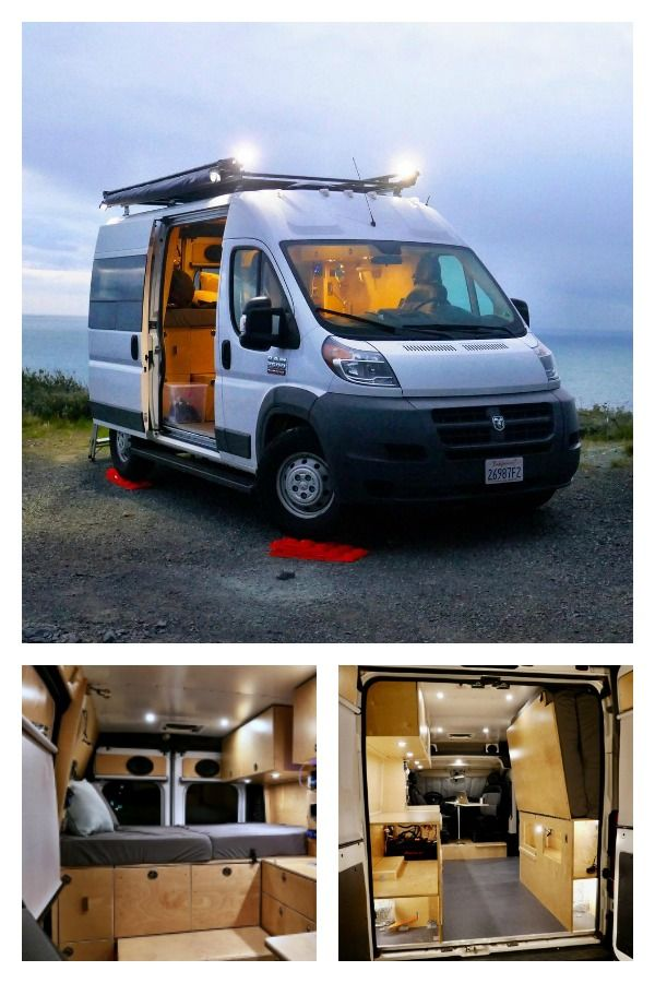 Ram Promaster Camper Vans Two Custom Builds For 60 000 Custom Camper Vans Dodge Camper Van Custom Campers