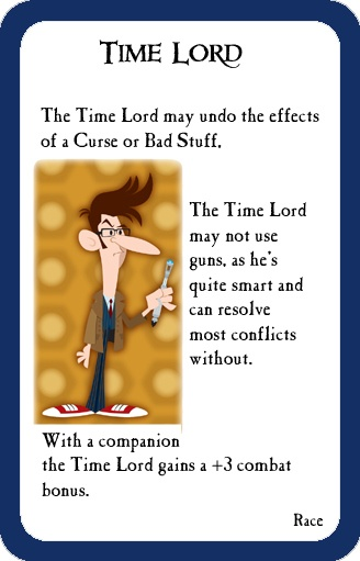 Munchkin Custom Cards Project #1: Doctor Who! « My Life as a Geek