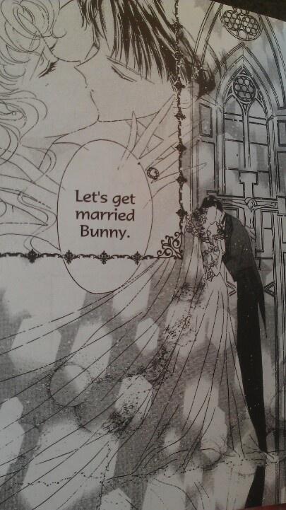 Sailor moon wedding, ending