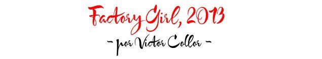 Eu e Victor Collor (fotógrafo, blogueiro, querido) resolvemos fazer um ensaio inspirado na mais famosa das Factory Girls de Andy Warhol, a fashion icon Edie Segwick. Sou fã do estilo dela – que aliás, continua super atual -, dei a sugestão, e Victor super se empolgou. Portanto, agora, mostro o resultado, louca para saber opiniões, …