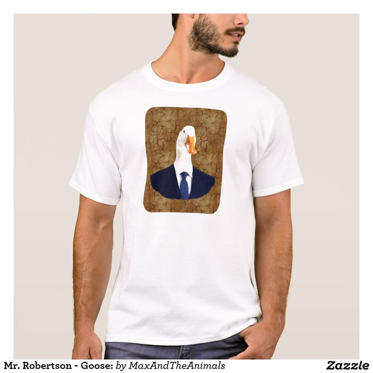Mr. Robertson - Goose: T-Shirt