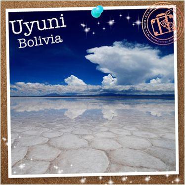 【H.I.S.】【Uyuni, Bolivia】死ぬまでに行きたい世界の絶景Vol.1。 ペルーはマチュピチュだけじゃない!一面鏡張りの景色はまさに圧巻!このウユニ塩湖は雨季の期間だけ、湖面に水が溜まり鏡となって空を映します。まるで天国のような絶景です。