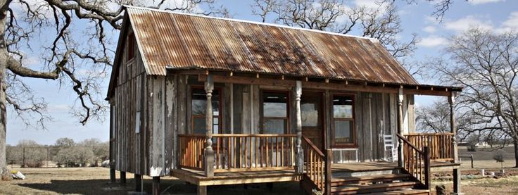 Rustic channeling frontier house favorite places for Cabin builder texas