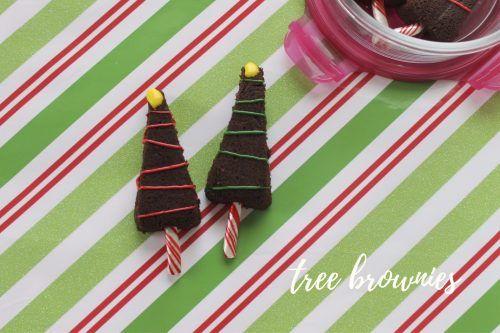 Tree Brownies - We Love GlassWe Love Glass