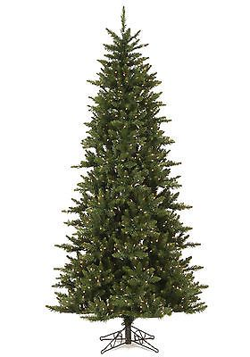 Artificial Christmas Trees 117414: 8.5 Ft X 50 Wide Camdon Slim Artificial Holiday Christmas Tree W Clear Lights -> BUY IT NOW ONLY: $329.95 on eBay!