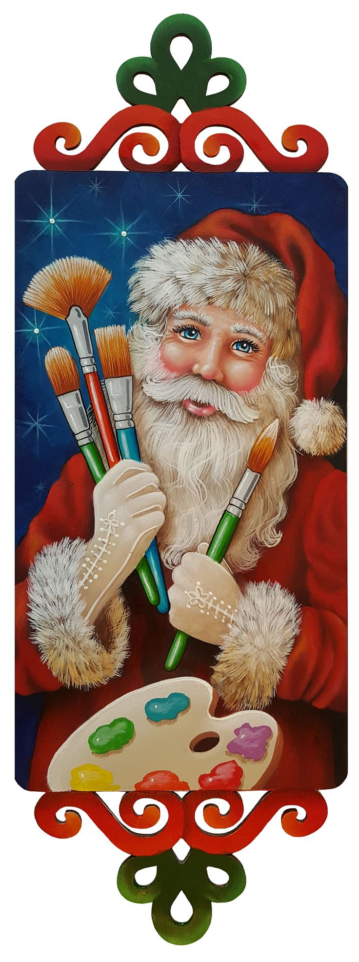 best 25 santa paintings ideas on pinterest christmas canvas