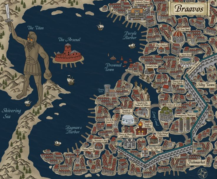 maps of braavos a song of ice and fire game of thrones braavos map game thrones