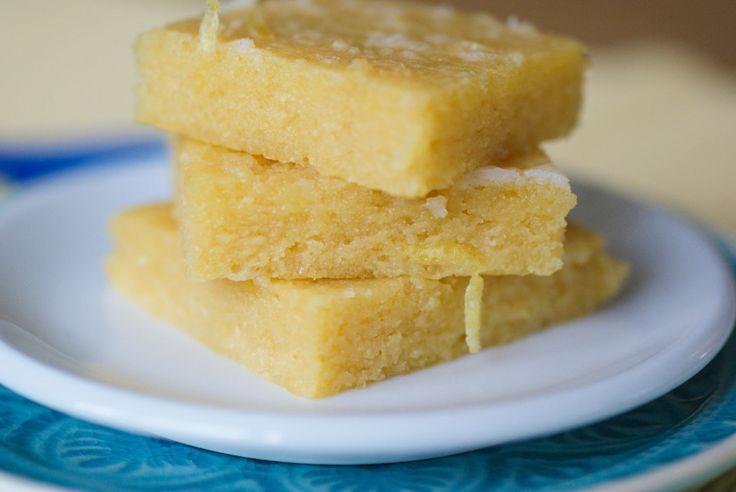 Paleo Lemon Brownies