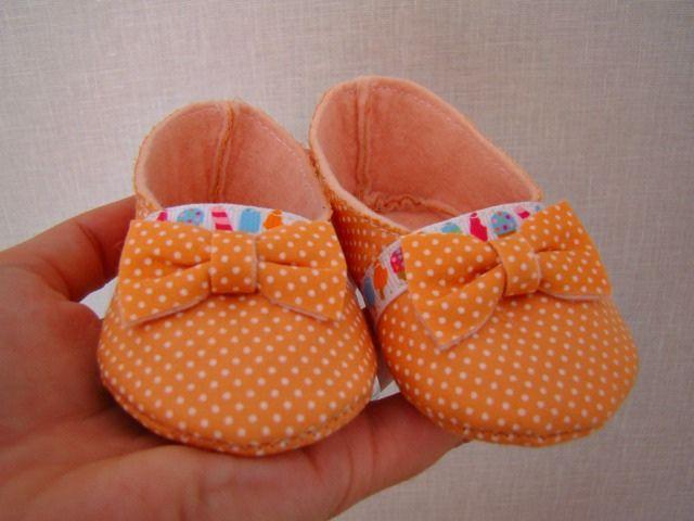 molde de sapatinhos de tecido para bebes nanda - Pesquisa Google