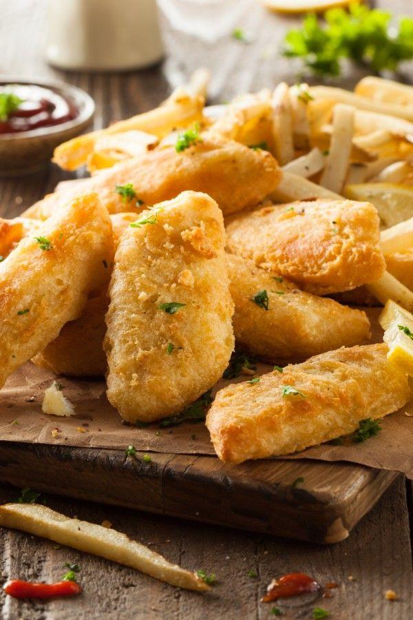 So machen Sie leckere Fish and Chips selbst