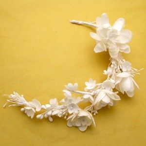 Ethnological Museum of Thrace - Bridal headpiece made from silk cocoons