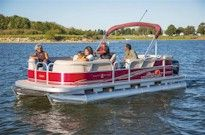 Pontoon Boat Rental on Tims Ford Lake