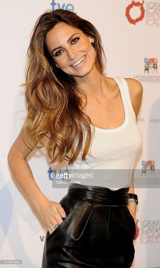 Spanish model Ariadne Artiles promotes Gran Canaria Moda Calida on June 8, 2010 in Madrid, Spain.