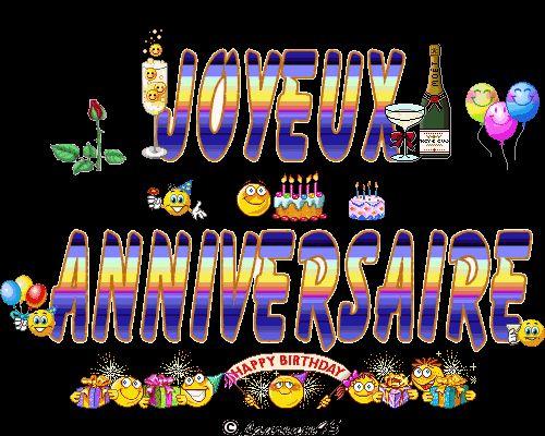 195/  Autour de l' ANNIVERSAIRE !!! + GIFS Animés ...