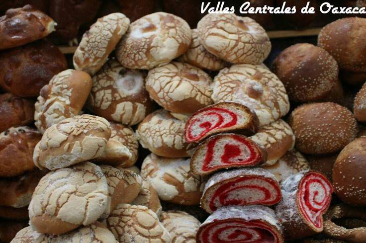 Variedad De Pan Dulce De Oaxaca Gastronomia De Mexico