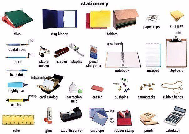 Fabuleux Les 45 meilleures images du tableau ESL - Vocabulary - School sur  UO89