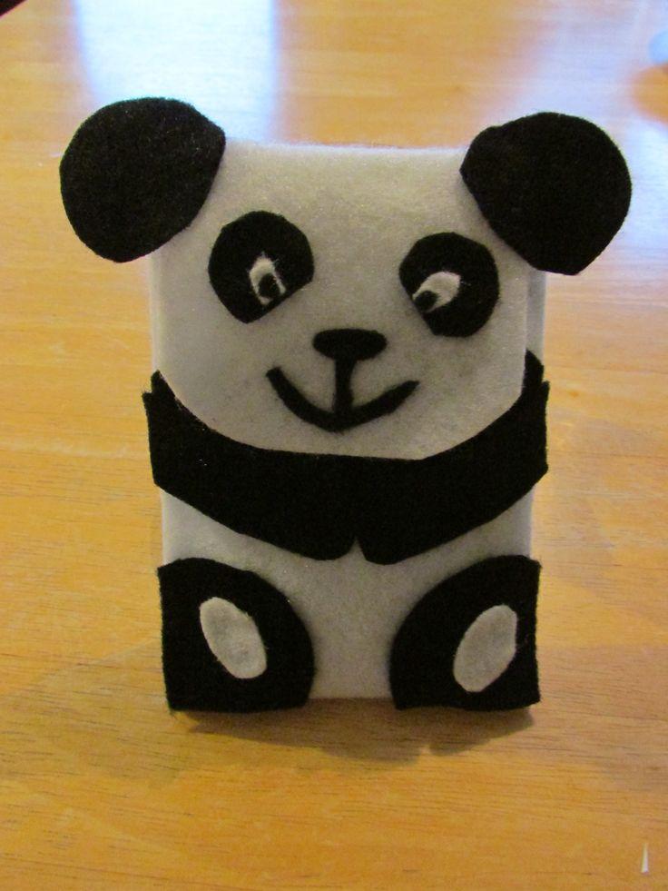 Handmade Panda phone holder