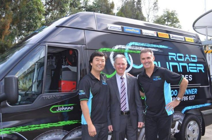 Road Runner Mobile Tyres supporting Cystic Fibrosis.
