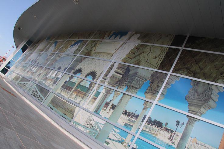 Cliente: Aeroporto Cuneo Levaldigi  - MAXI SCENOGRAFIA -  #Wrapping #Glass #Marocco #Events #Oneway #Airport #Cuneo #Levaldigi #Turin