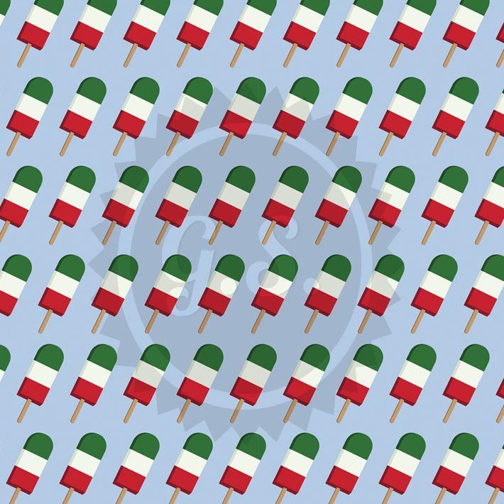 3D Ice Cream Pattern #pattern #icecream #graphic_design #summer