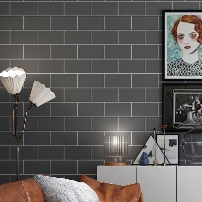Modern Brick Mosaic Tile Decals Self Adhesive Wallpaper for Bathroom Wall Decor Kitchen Backsplash Peel and Stick Wall Stickers