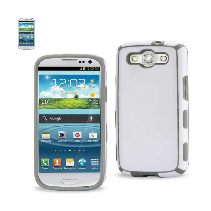 Reiko Samsung Galaxy S3 Slim Commute Case In White Gray