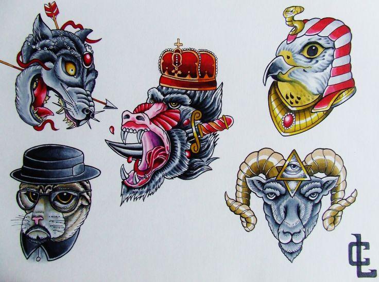 neo tradish flash-curtis lawson art