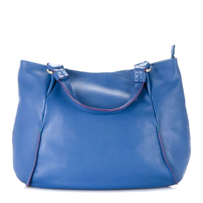 Loving the new Aqua colour scheme. It is very well presented in this gorgeous handbag from the San Remo collection.