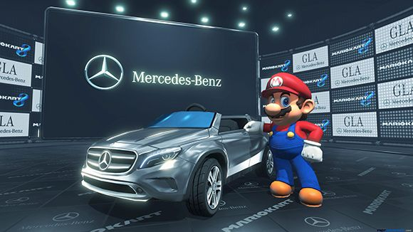 Mercedes-Benz au coeur de Mario Kart 8