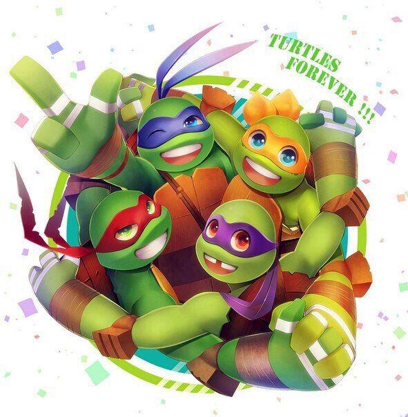TURTLES FOREVER!!!