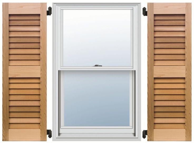 cedar shutters for the natural wood look cedar shutters