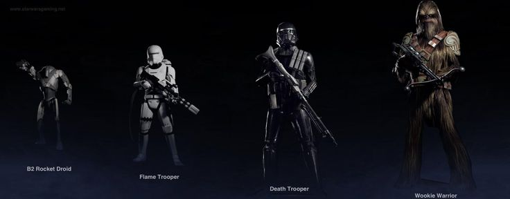 [Image] 4 special characters were revealed this week for Battlefront 2 #Playstation4 #PS4 #Sony #videogames #playstation #gamer #games #gaming