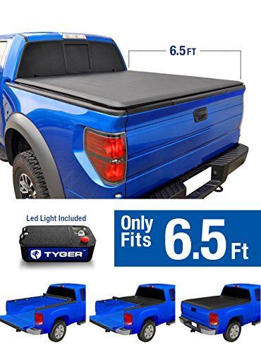 Tyger Auto TG-BC1D9014 TOPRO Roll & Lock Truck Bed Tonneau Cover 2002-2018 Dodge Ram 1500; 2003-2018 Dodge Ram 2500 3500   Fleetside 6.5' Bed   For models without Ram Box - Tyger Auto focus on developing premium aftermarket auto parts that meet or exceed OE quality standards with No-Hassle warranty! TYGER TOPRO roll & lock tonneau cover offers the customized sleek and stylish design with easy no-drill installation. TYGER TOPRO is a soft roll & lock tonneau cover tha...