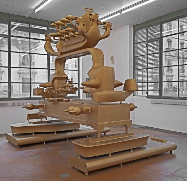 Bruno Gironcoli at MAMCO (Contemporary Art Daily)