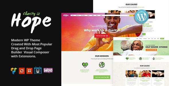 Hope v1.0 - это современная и функциональная тема WordPress, идеально подходящая для некоммерческих организаций. Эта тема является лучшим выбором для любых благотворительных организаций, НПО, пожертвований, фондов, сбора средств или веб-сайта правительственной социаль