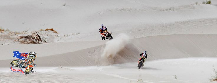 Toby Price (KTM) now holds a lead of 23′12″ over Štefan Svitko (KTM