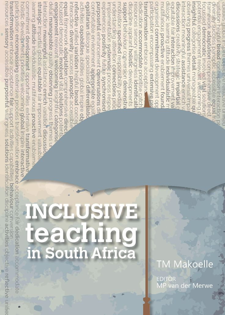 Inclusive education presupposes an all-inclusive approach where all learners are taught in regular classrooms, regardless of background, disability or social context. While there has been much debate, indications are that inclusive education has been gaining momentum. The book is divided into six coherent sections that address the how of inclusive education both inside and outside of the classroom.