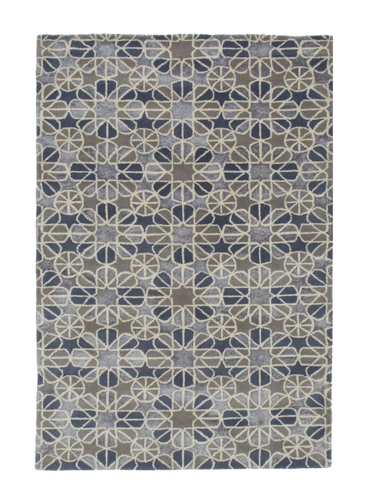 modern - mosaic #1776 5.00 x 3.50m Himalaya Collection ~ New Zealand Wool Hand-Tussock Was R 66 500 -50 %  Now R 33 250