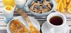 Ein gutes Frühstück lässt die Pfunde purzeln!