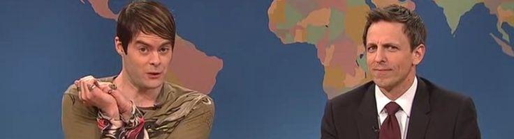 SNL VIDEO: Watch Stefon Marry Seth Meyers During Season Finale!