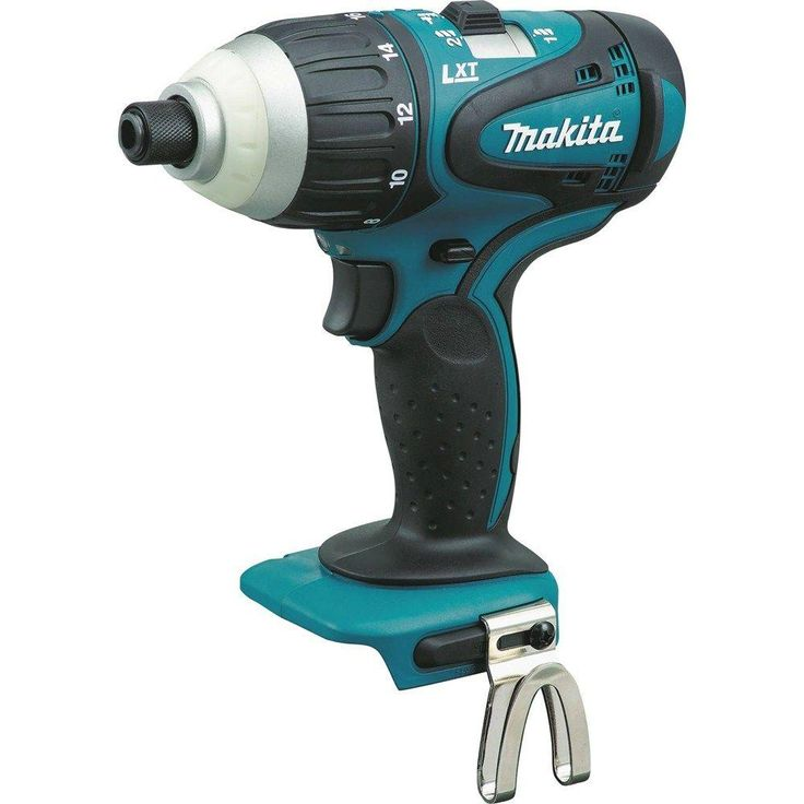 Makita 18-Volt LXT 1/4 in. Hybrid Impact-Hammer-Drill (Tool-Only)