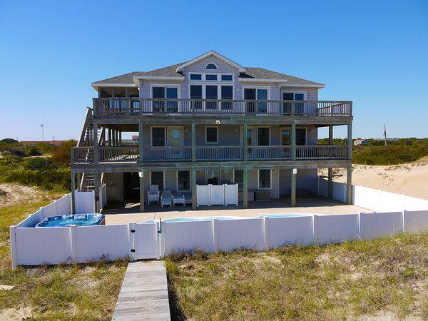 CV-16 Carova, NC Oceanfront Rental Home Exterior